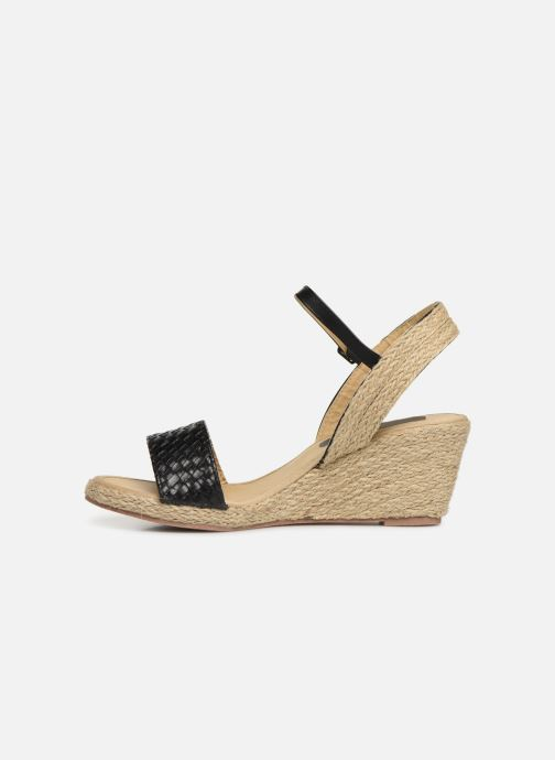 Espadrilles I Love Shoes Kitrina Noir vue face